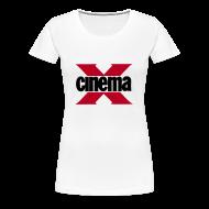 T-Shirts ~ Women's Premium T-Shirt ~ Cinema X
