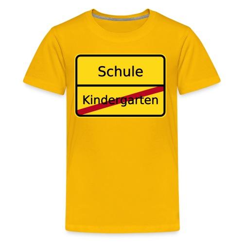 Schulanfänger - Teenager Premium T-Shirt