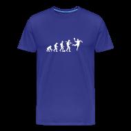 T-Shirts ~ Männer Premium T-Shirt ~ Die wahre Evolution | Männer Shirt