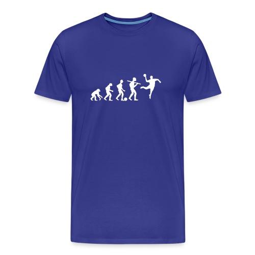 Die wahre Evolution | Männer Shirt - Männer Premium T-Shirt