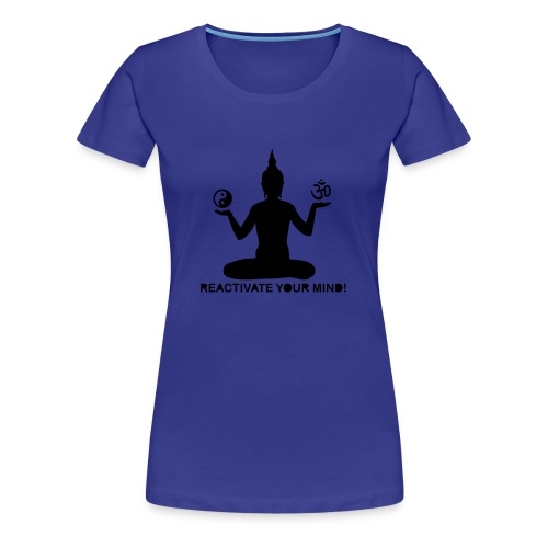 reactivateyourmind04 T-Shirt (f) bleu roi - T-shirt Premium Femme