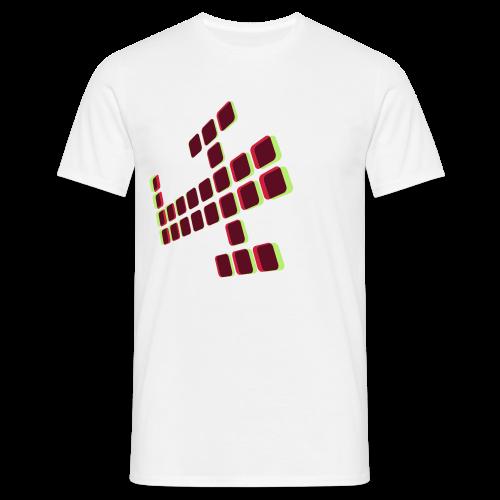 3Dplane - Men's T-Shirt