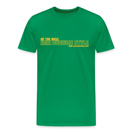 Classic T-shirt UP THE BASS - Men's Premium T-Shirt