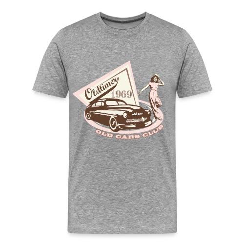 Old Car Club T Shirt - Men's Premium T-Shirt