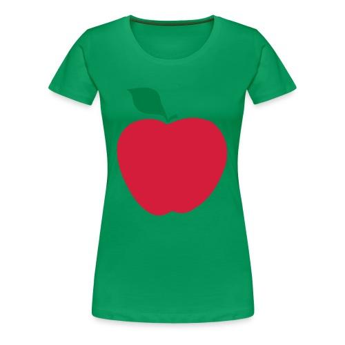 Apple T-shirt - T-shirt Premium Femme