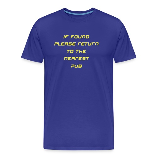 if found - Men's Premium T-Shirt