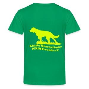 Kinder-T-Shirt - Teenager Premium T-Shirt