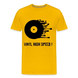 Vynil high speed - T-shirt Premium Homme