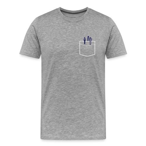 FS_pen_gry_sh - Men's Premium T-Shirt