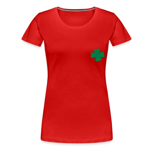 Shamrock Classic Girlie Tee - Women's Premium T-Shirt