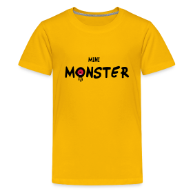 mini monster witzige kinder t shirts lustige baby. Black Bedroom Furniture Sets. Home Design Ideas