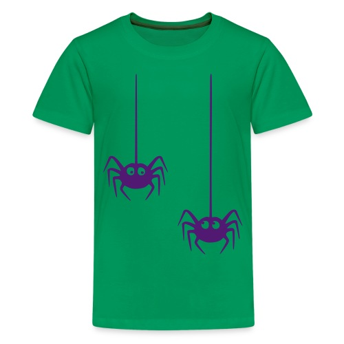 hämähäkki - Teinien premium t-paita
