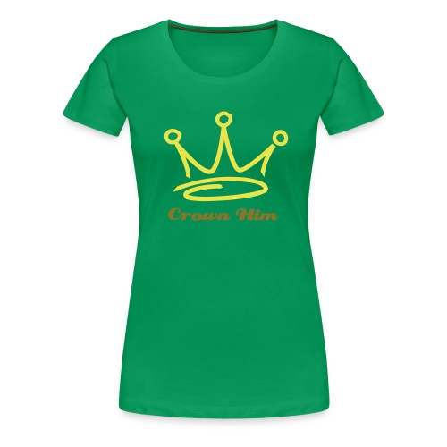 Crown Him top - Premium-T-shirt dam