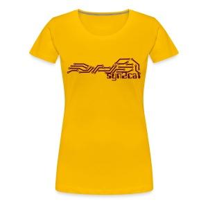 syn2cat pcb - Women's Premium T-Shirt