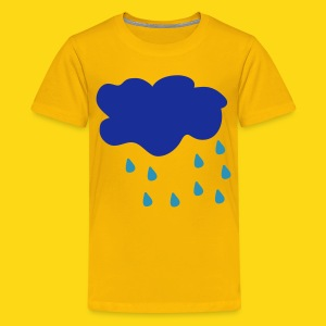Raining Cloud - Teenage Premium T-Shirt