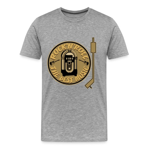 Rock'n'roll 2 - T-shirt Premium Homme