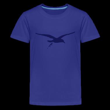 Türkis moewenschiss Kinder T-Shirts