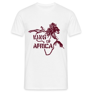 King of Africa - Männer T-Shirt