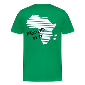 africa, proud of it - T-shirt Premium Homme