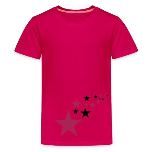 Girls star tee - Teenage Premium T-Shirt