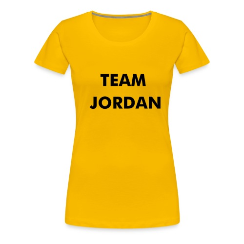 Team Jordan - Women's Premium T-Shirt