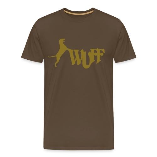 T-Shirt Wuff - Männer Premium T-Shirt