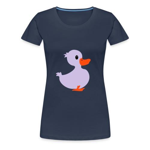 Duck t-shirt - T-shirt Premium Femme