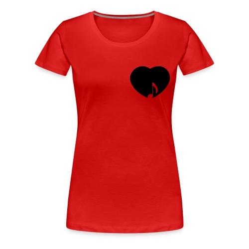 Fanshirt pro Musikanti (Girlie) - Frauen Premium T-Shirt