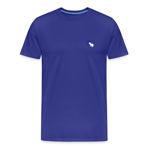 fopspeen op je t-shirt - Mannen Premium T-shirt