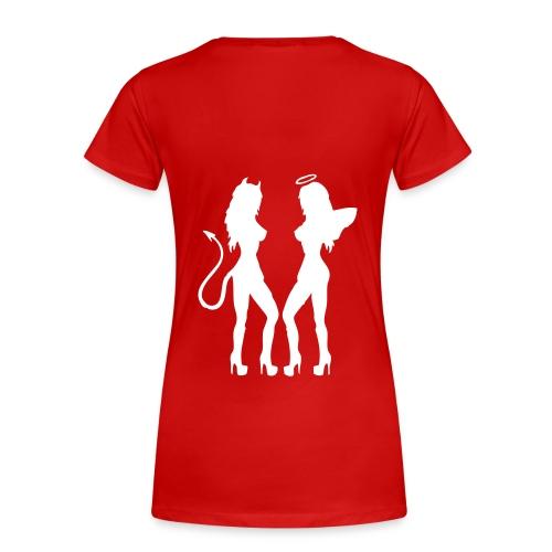 cravate diable - T-shirt Premium Femme