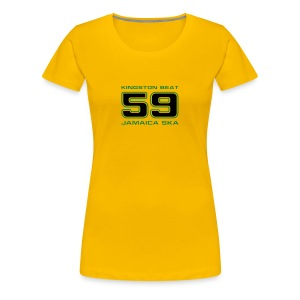 TS Kingston Beat 59 - Frauen Premium T-Shirt