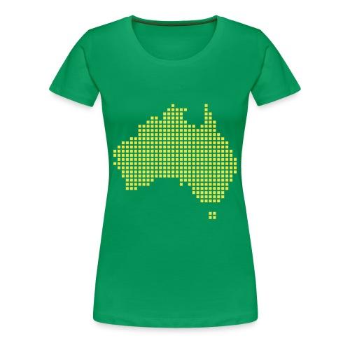 Australia - Frauen Premium T-Shirt