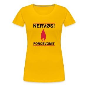 Forcevomit ladyboy - Premium T-skjorte for kvinner