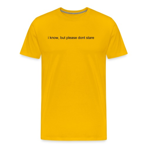 i know - Men's Premium T-Shirt