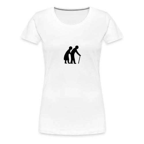 80 - Premium T-skjorte for kvinner