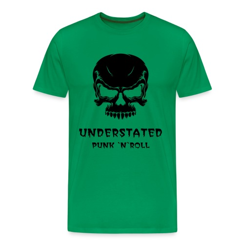 Mens Skull Green - Men's Premium T-Shirt