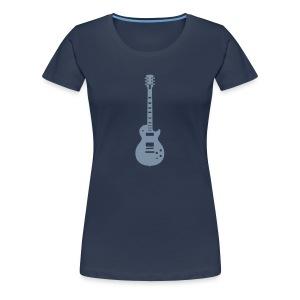 Gitaar - Vrouwen Premium T-shirt