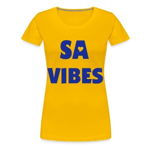 SA VIBES EDIT - Women's Premium T-Shirt