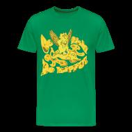 T-shirts ~ Herre premium T-shirt ~ Go fish! Be happy!, t-shirt