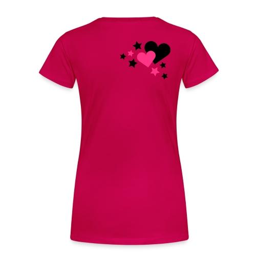 Damska koszulka 'różowa - Koszulka damska Premium