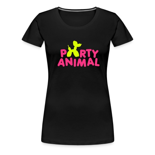 Party animal Slim Fit - Women's Premium T-Shirt