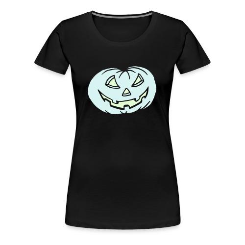 Kürbis - leuchtet im Dunkeln - Halloween - T-Shirt - Frauen Premium T-Shirt
