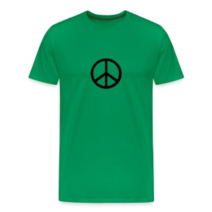 Peace Khaki - Men's Premium T-Shirt