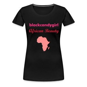 BLACKCANDYGIRL-MAP - Women's Premium T-Shirt