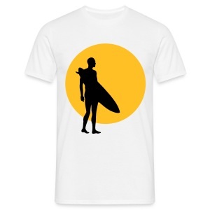 Sun, Surf - Sand - Men's T-Shirt