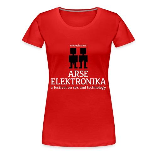 arse elektronika - wmn - Women's Premium T-Shirt