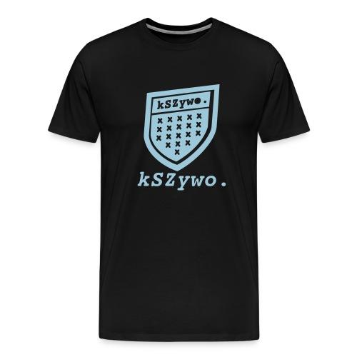 Krzywo - prawie jak PROSTO - Koszulka męska Premium