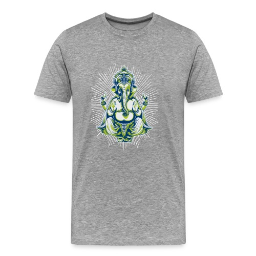 Ganesha - Camiseta premium hombre