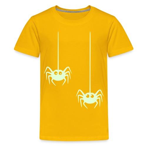 hämähäkki2 - Teinien premium t-paita