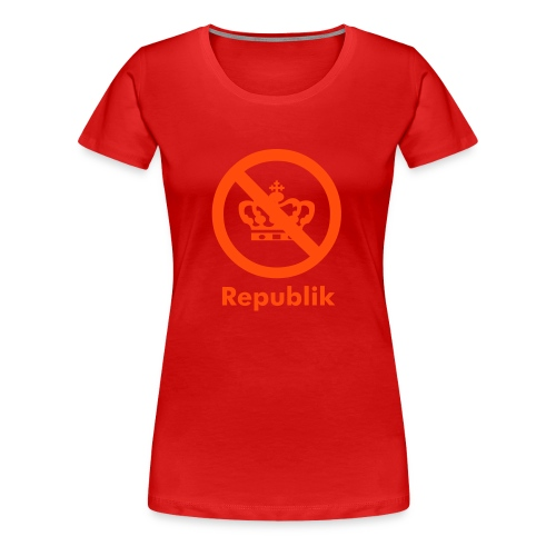 Red Republik - Dame premium T-shirt